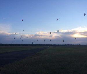 Skrydis oro balionu - pasiruošimas
