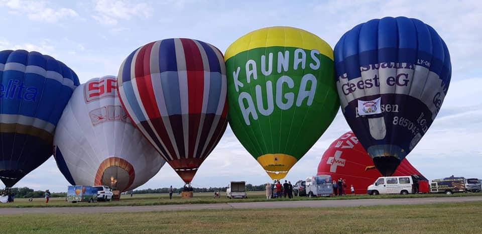 Oro balionai istorija